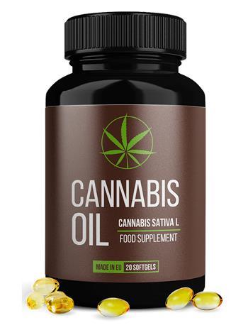 olio di cannabis capsule